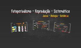 Fotoperiodismo - Reprodução - Sistemática