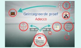 GIP voorstelling stageplaats Adecco
