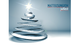 Julkalender Matteus ungdom