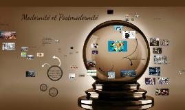 Modernité et Postmodernité