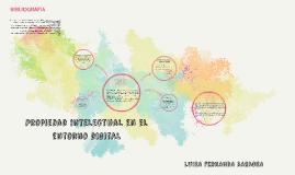 Propiedad intelectual en el entorno digital