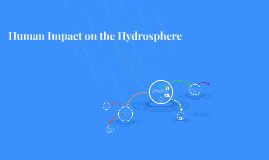 Human Impact on the Hydrosphere