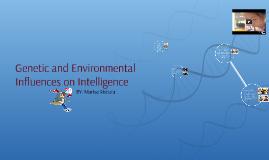 Genetic Influences on Intelligence