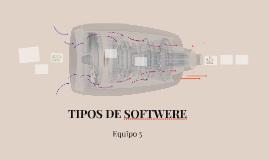 TIPOS DE SOFTWERE
