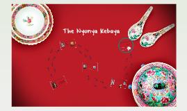 Cultural Objects - The Peranakan Kebaya