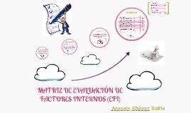 Copy of MATRIZ DE EVALUACIÓN DE FACTORES INTERNOS (EFI)