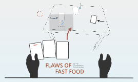 FLAWS OF FAST FOOD