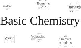 Copy of Basic Chemistry