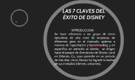 Copy of LAS 7 CLAVES DEL ÉXITO DE DISNEY
