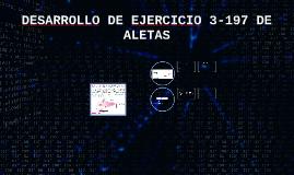 DESARROLLO DE EJERCICIO 3-197 DE ALETAS