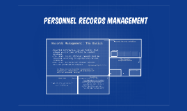 Copy of Personnel/Payroll Records Management