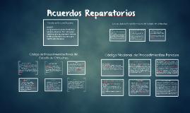 Acuerdos Reparatorios