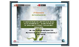 II ENCUENTRO DE INVESTIGADORES AMBIENTALES