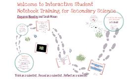 Copy of Interactive Science Notebook Traning - Escambia