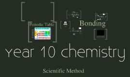 Year 10 Chemistry