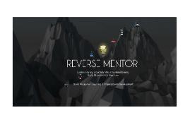 Reverse Mentor 2015 - Orientation