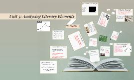 Analyzing Literary Elements