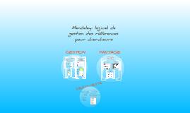 Mendeley: logiciel de gestion des références pour chercheurs