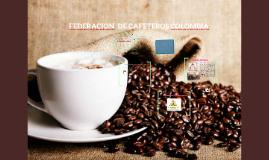 FEDERACION DE CAFETEROS COLOMBIA