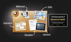 Desktop Prezumé by Beatrice Belli
