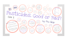 Pesticides, Good or Bad?