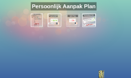 Persoonlijk Aanpak Plan
