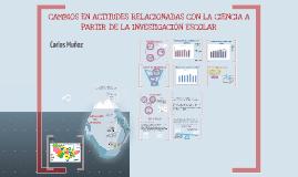 Copy of Habilidades cientificas involucradas en la enseñanza del concepto interaccion