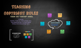 """Teaching Copyright Rules using the """"Assure"""" Model"""