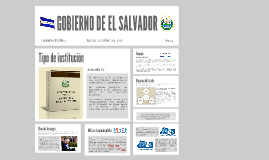 GOES, Gobierno de El Salvador