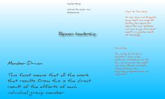 dynamic leadership pt 1.1