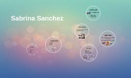 Sabrina Sanchez
