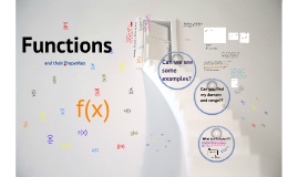 Functions & Their Properties