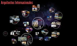 Arquitectos Internacionales