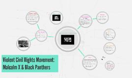 Violent Civil Rights Movement