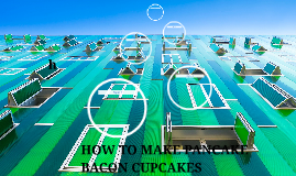 HOW TO MAKE PANCAKE BACON CUPCAKES
