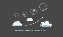 Passwords - keeping the world out