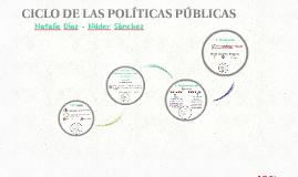 Ciclo de las políticas públicas