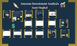 Amazon Investment Analysis