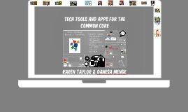 tech tools and apps for the common core