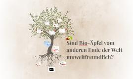 Copy of Sind Bio-äpfel vom anderen Ende der Welt umweltfreundlich?