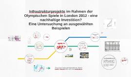 Infratsrukturprojekte im Rahmen der Olympischen Spiele in Lo