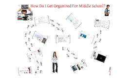 Copy of Getting Organized For Middle School