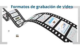 Formatos de vídeo digital