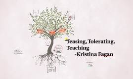 Copy of Teasing, Tolerating, Teaching