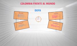 COLOMBIA FRENTE AL MUNDO