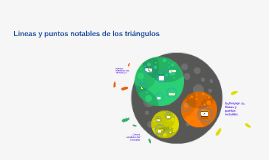 lINEAS Y PUNTOS NOTABLES DE LOS TRIANGULOS