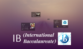 IB (International Baccalaureate)