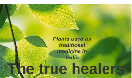 The true healers