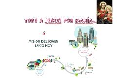 MISIÓN DEL JOVEN LAICO HOY
