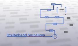 Resultados del Focus Group